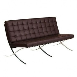 Silla BARCELONA DOBLE -Limited Edition--Piel chocolate Inspiración Barcelona Sofa de Mies Van de Rohe Share on facebookShare on email Share on twitter Share on print More Sharing Services 0